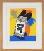 Sale 8779 - Lot 2014 - Alun Leach-Jones (1937 - 2017) - Capricorn I 48 x 37.5cm