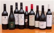 Sale 8891H - Lot 65 - Nine bottles of Australian red wine, various makers and vintages