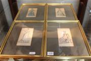 Sale 8327 - Lot 100 - Early Fashion Engravings (4)