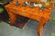 Sale 8386 - Lot 1023 - Art Deco Style Hall Table