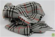 Sale 8501 - Lot 16 - Burberry Grey Check Cashmere Scarf