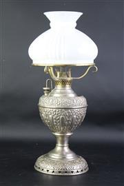 Sale 8827D - Lot 94 - A Vintage Miller Kerosene Lamp