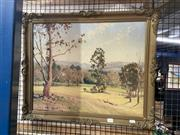 Sale 8932 - Lot 2073 - Frederick Roberts - Country Landscape  oil on board, 52 x 64cm, signed lower left