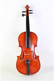 Sale 8940 - Lot 58 - A Cased Students Violin