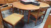 Sale 8409 - Lot 1063 - McIntosh Table and Set of Four Chairs