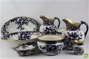 Sale 8516 - Lot 90 - Royal Doulton Toilet Jug Suite