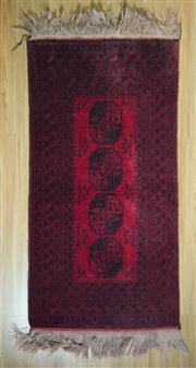 Sale 8693C - Lot 48 - Afghan Qunduzi 180cm x 90cm