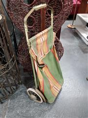 Sale 8745 - Lot 1046 - Vintage Shopping Cart