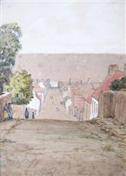 Sale 8764A - Lot 5062 - Henry Alexander Bowler (1824 - 1903 - MacDuff, Aberdeenshire, Scotland, 1887 17 x 12cm