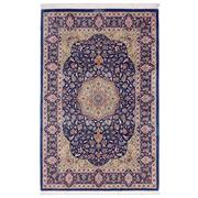 Sale 8971C - Lot 22 - Persian Silk Ghom, Extremely Finely Knoted & Signed, 100x155cm, Persian Silk