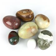Sale 8607R - Lot 82 - Collection of Eggs, Some Stone