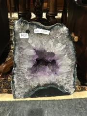 Sale 8795 - Lot 1020 - 22 Kg Amethyst Cave
