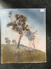 Sale 9024 - Lot 2014 - Artist Unknown, Pastoral scene, oil on canvas on board (unframed), 35 x 40cm, unsigned