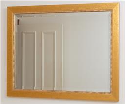 Sale 9155H - Lot 61 - A gilt framed bevelled edge mirror 59x75cm