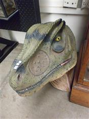 Sale 7905A - Lot 1678 - Alosaurus Head, Museum Replica