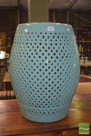 Sale 8390 - Lot 1257 - Chinese Ceramic Drum Stool