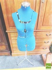 Sale 8412 - Lot 1056 - Adjustable Dress Makers Mannequin