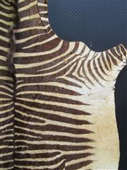 Sale 8431A - Lot 662 - Zebra Skin, mounted on board