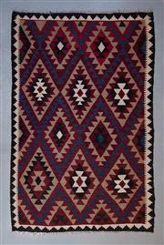 Sale 8493C - Lot 51 - Afghan Maymana Kilim 425cm x 163cm
