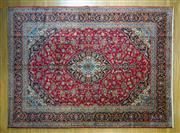 Sale 8372C - Lot 24 - A Persian Kashan, 410 x 300cm