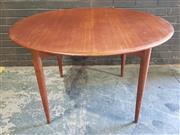 Sale 8984 - Lot 1051 - Vintage Parker Round Extension Dining Table (H:74 x D:120cm)