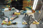 Sale 8327 - Lot 7 - Ceramic Graduated Wall Ducks (Restored)