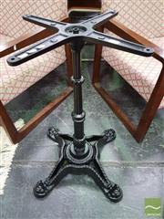 Sale 8515 - Lot 1021 - Cast Iron Table Base on Four Feet