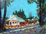 Sale 8507A - Lot 5005 - Kevin Charles (Pro) Hart (1928 - 2006) - Thommos Store, Berrima 23.5 x 30.5cm