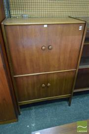 Sale 8528 - Lot 1091 - Quality Younger Teak Cocktail Cabinet