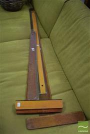 Sale 8542 - Lot 1024 - Collection of Vintage T-Squares