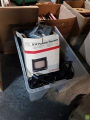 Sale 8582 - Lot 2269 - 2 x XBox & Playstation 2, Portable TV, etc
