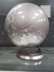 Sale 8834 - Lot 1005 - Silver Globe on Stand