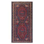 Sale 8971C - Lot 25 - Antique Caucasian Konabend Rug, Circa 1940, 140x270cm, Handspun Wool & Natural Dyes