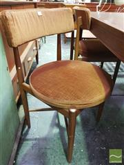Sale 8409 - Lot 1021 - Set of Four G-Plan Teak Dining Chairs