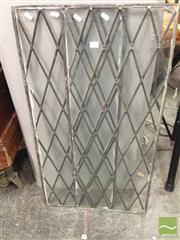Sale 8412 - Lot 1064 - Pair of Leadlight Panels