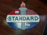 Sale 8462 - Lot 1037 - Cast Iron Standard Sign