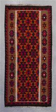 Sale 8493C - Lot 52 - Afghan Mayamna Kilim 197cm x 100cm