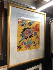 Sale 8779 - Lot 2012 - Ken Done Print, frame size: 110 x 88cm