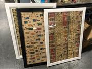 Sale 8816 - Lot 2081 - 3 Works: Doll Cut-Outs, Mah-Jong Card & Tarot Card Prints