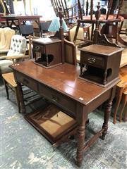 Sale 8822 - Lot 1880 - Timber Mirrored Back Dresser (A/F)