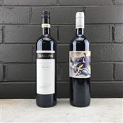 Sale 8911X - Lot 19 - 2x Serafino Wines, McLaren Vale - 1x 2015 Malpas Vineyard Shiraz, 1x Bellissimo Montepulciano