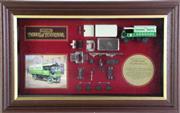 Sale 8960T - Lot 8 - Framed Samuel Smith Wagon LTD Edition Matchbox Car Display (32cm x 53cm)
