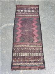 Sale 9063 - Lot 1063 - Hand Knotted Pure Wool Persian Sumak Runner (160 x 63cm)