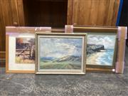 Sale 9091 - Lot 2095 - A Group of three artworks depicting country NSW by various artists.