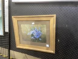 Sale 9101 - Lot 2020 - Kathleen Denford (Early C20th) Still Life - Wildflowers oil, 39 x 47cm, inscription verso