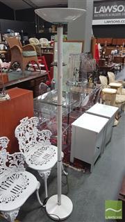 Sale 8404 - Lot 1077 - Modern White Standard Lamp