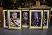 Sale 8410T - Lot 2007 - Collection of 6 Gilt Framed Art Works (82 x 112)