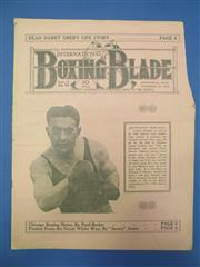 Sale 8419A - Lot 37 - The Boxing Blade - approx. 50 copies of this rare magazine, 1923-1938