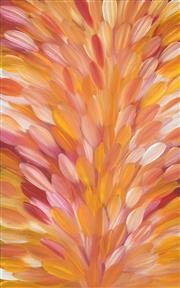 Sale 8478A - Lot 5009 - Gloria Petyarre (c1945 - ) - Bush Medicine Leaves 95 x 60cm