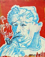 Sale 8507A - Lot 5007 - David Bromley (1960 - ) - Vincent 100 x 80.5cm